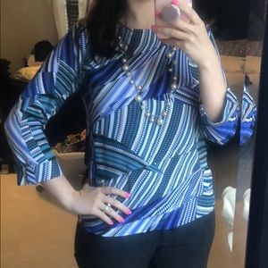 Beautiful multicolored blouse